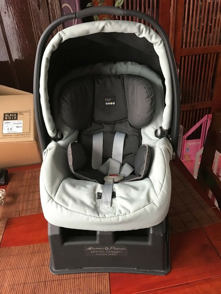 Mamas Papas Primo Viaggio Car Seat And Surefix Bas