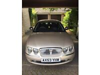 Gold 2004 Rover 75 1.8 Connoisseur SE 4DR in excellent condition MOT until Jul 2018
