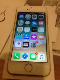 Good Condition iPhone 5s White 16GB on EE, ASDA, BT, Co-operative & Virgin Mobiles