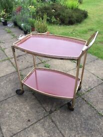 Drinks trolley - prosecco cocktail wedding vintage retro
