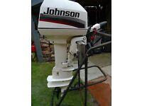 JOHNSON 5HP LONGSHAFT OUTBOARD ENGINE