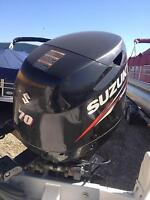 Wakaw Marine is sold blow out 2014 150 HP Suzuki 4-Stroke Engine