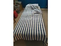 Two IKEA chair beds for sale