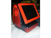 RED custom colour FAST epos till syestem very stylish with cash drawer and full software licence