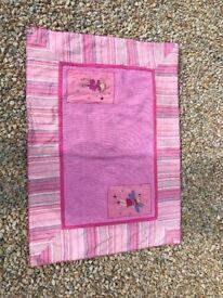 Laura Ashley pink rug
