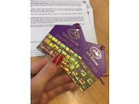 Yorkshire Ebor Festival 2017 - 2 X COUNTY STAND FOUR DAY BADGES (FULL) 23-26th Aug 2017