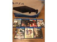 Sony PS4 slim 500GB with 7 games