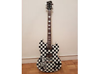 AGG Recoil Electric Guitar (brand new) with custom Vans 'Off the Wall' design