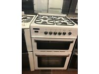 60CM WHITE LEISURE DUEL FUEL GAS COOKER