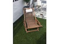 Peru wooden deck chairs