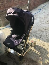 Mamas&papas stroller pushchair with accessories