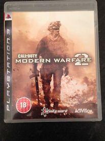 Modern warefare 2 PS3