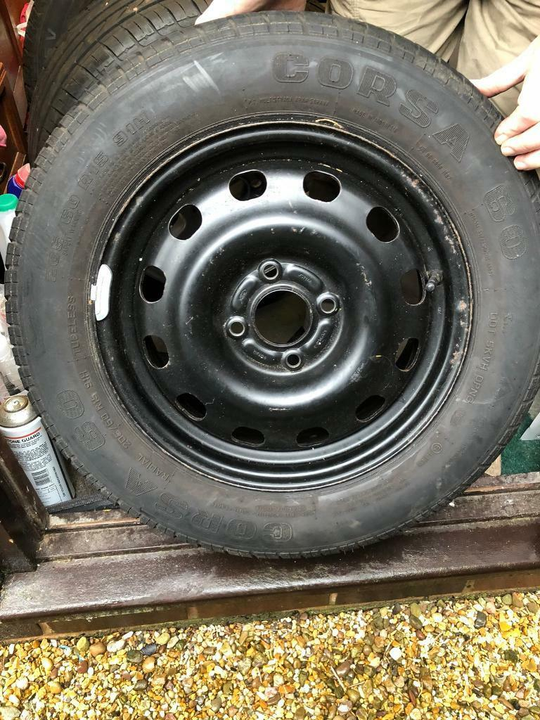 Spare Wheel And Tyre 205 60 R15 From A Ford Focus In Hinckley Leicestershire Gumtree