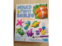 Mould and Paint sea life set