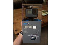 GoPro Hero 5 Black Edition - NEW & SEALED IN BOX - 4K Camera