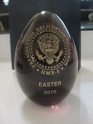 Presidential HMX-1 seal  easter egg 2010 - Barack Obama