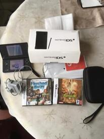 Nintendo DSI black excellent 2games