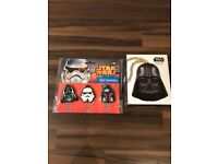 Star Wars merchandise brand new in the package