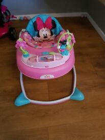 Disney Minnie Mouse baby walker