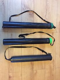 3no x A1 Telescopic drawing tubes