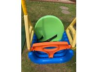 Baby/toddler/child swing seat - adjustable 4 stages