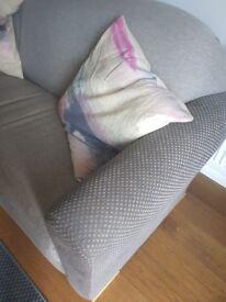 Grey sofa 3 seater sofa