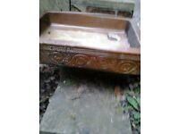 2 x Salt Glazed Sinks