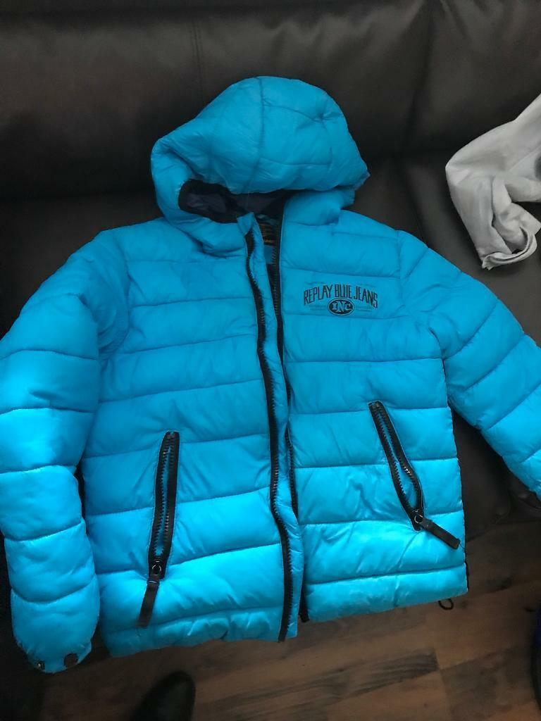 Boys replay bubble jacket