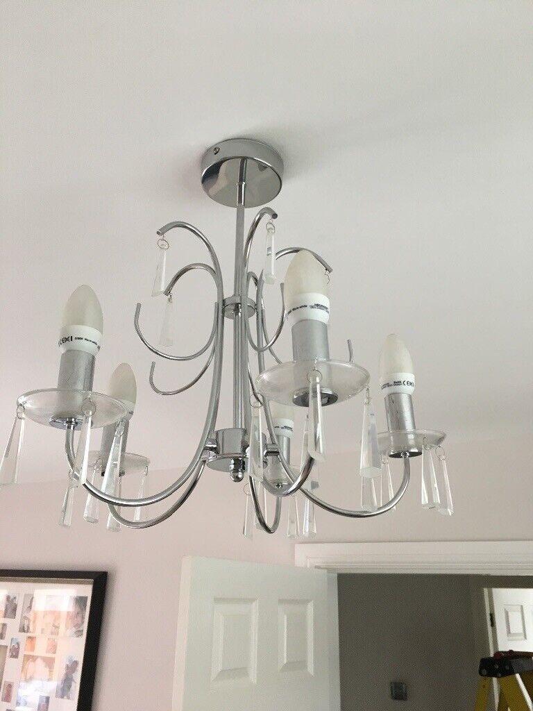 huge discount 05dff 3e358 Homebase crystal living room light | in Rhiwbina, Cardiff | Gumtree