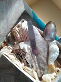 Antique Firth stainless steel cutlery