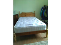 Small Double Bed with Ortho Mattress