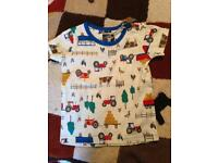 Joules top 18/24months