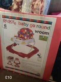RedKite baby go round Vroom 'walker'