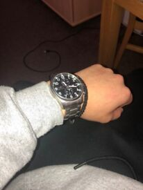 Silver Invicta watch for sale!