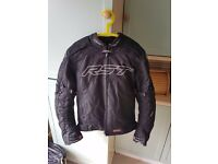 RST Pro Series Sport Armoured Motorcycle Jacket with AlpineStars Kevlar Gloves | Size M | RRP £200+