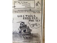 Titanic/WW2 note let from the front from Friend of Millvina Dean