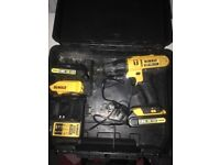DeWalt 18V cordless drill. Batteries and charger. £50 OnO