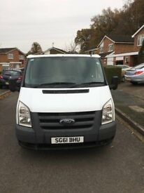LATE 2011/61 FORD TRANSIT 2.2 TDCI 85 PS 5 SPEED FWD T280 MOT SEP 18 LOVELY CONDITION NO VAT