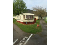 Caravan let for holiday