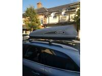 Roof box Karrite 360l hire rent only