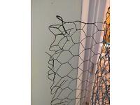 Metal mesh for garden or pets