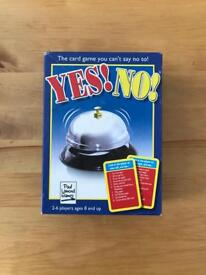 Yes or no game