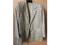 Vintage Daks tweed wool & Silk blazer/Jacket size 16