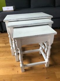 Side table set of 3 living room