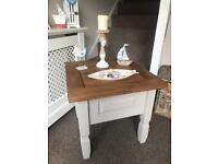 Shabby chic side/ coffee table.