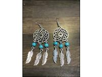 Dreamcatcher earrings. £3 per pair. Can post or collect from Tqy