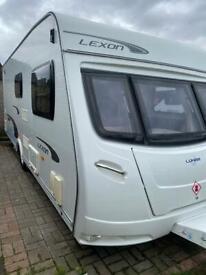 Luna 530 touring caravan