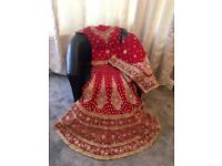Asain Wedding Bridal Lengha, Wedding Dress