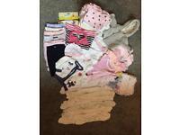 Newborn baby girl bundle 0-3 months