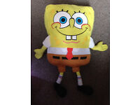 Fisher Price Sponge Bob Plush Soft Toy